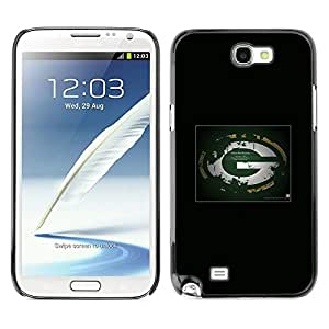 LOVE FOR Samsung Note 2 N7100 Bay Packers NFL Personalized Design Custom DIY Case Cover