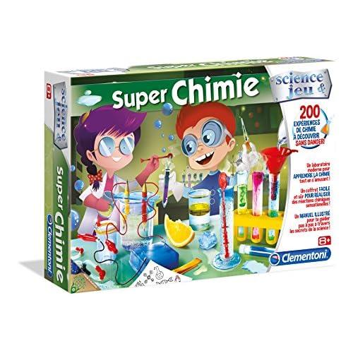 Clementoni 52263-Super Chimie -Jeu scientifique