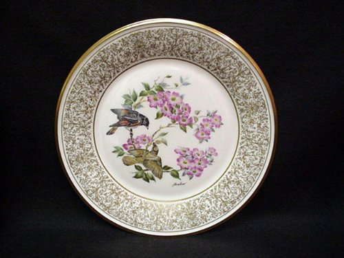 1981 EASTERN PHOEBE BOEHM BIRDS LENOX SERIES COLLECTOR PLATE