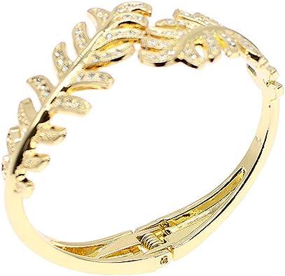 Sparkly Crystal Rhinestone Diamante Bracelet Bangle Women Girl Wedding Jewellery