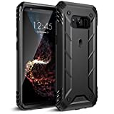 Poetic Revolution Galaxy S8 Plus Rugged Case With Hybrid Heavy Duty Protection WITHOUT Screen Protector for Samsung Galaxy S8 Plus Black