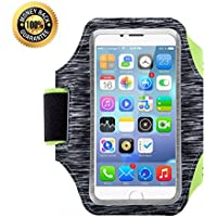 Sport Running Armband, 5.5 Inch Adjustable Reflective...