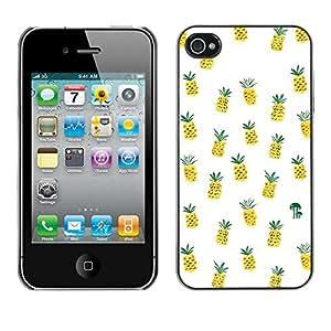 X-ray Impreso colorido protector duro espalda Funda piel de Shell para Apple iPhone 4 / iPhone 4S / 4S - Weed Cannabis 420 Smoke