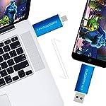 Memoria-USB-32GB-Colourstone-Dual-Drive-Mini-USB-Stick-Pendrive-Portatile-Compatibile-con-Samsung-Huawei-Smartphones-e-Tablet-Memory-Esterno-Blu