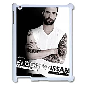 C-EUR Cover Case Adam Levine customized Hard Plastic case For IPad 2,3,4