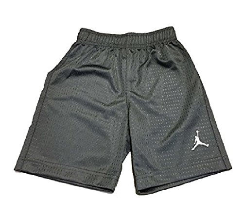 Little Boys Jordan Mesh Athletic Shorts (6, Dark Grey) Jordan Embroidered Shorts