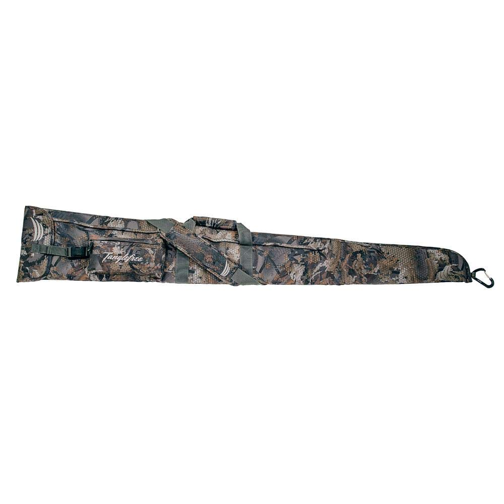 Flight Series Floating Gun Case - 55'' Length - 600D Polyester Material - Optifade Timber by Tanglefree