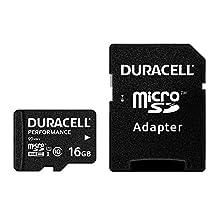 Duracell DRMK16PE 16GB MicroSDHC UHS-I Class 10 memory card