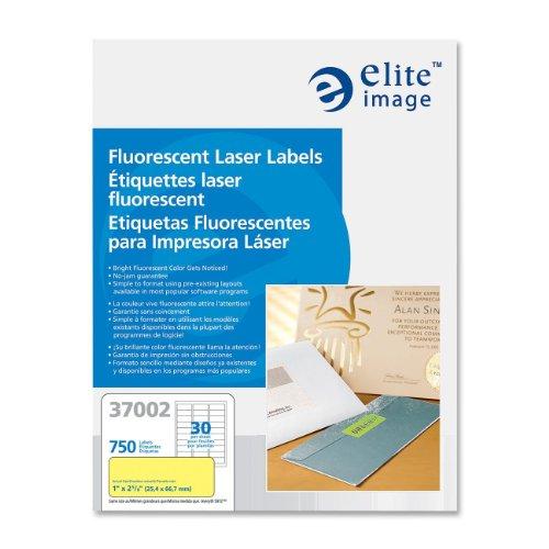 ELI37002 - Elite Image Fluorescent Laser Label ()