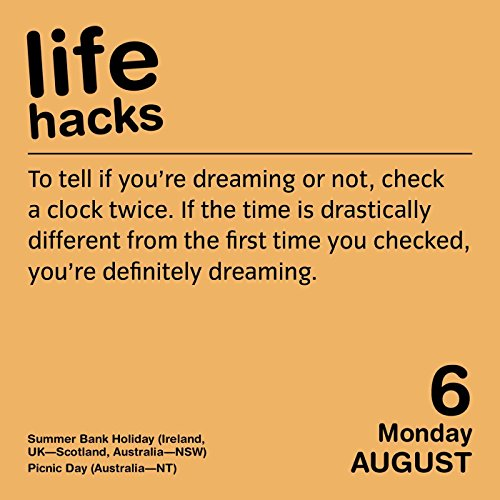 61g9E-kqMtL Amazon Books - Life Hacks 2018 Day-to-Day Calendar  41FyCwxAPAL Amazon Books - Life Hacks 2018 Day-to-Day Calendar  512THAJM1GL Amazon Books - Life Hacks 2018 Day-to-Day Calendar  51gaKjF9dQL Amazon Books - Life Hacks 2018 Day-to-Day Calendar