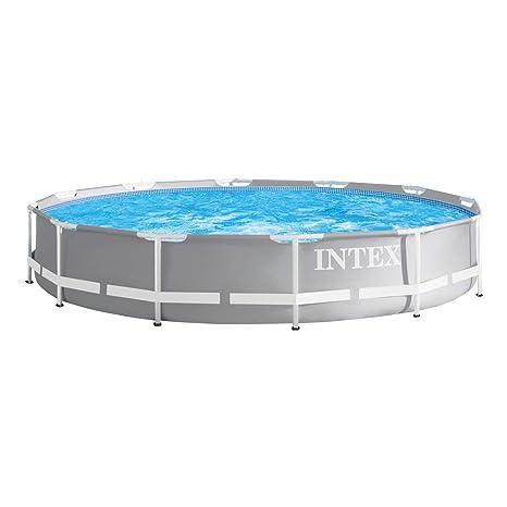 Intex 26710NP - Piscina desmontable redonda Prisma Frame 366 x 76 cm