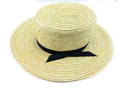 Amish Hat (Amish Straw Hat- One Size Fits Most)