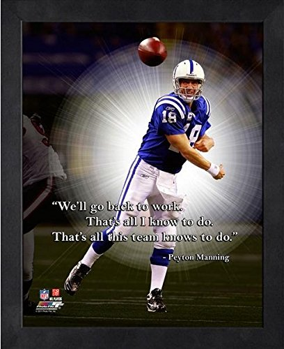 Peyton Manning Indianapolis Colts ProQuotes Photo (Size: 12