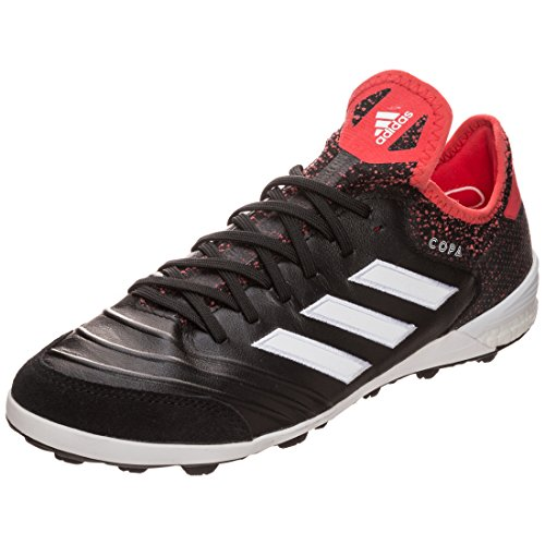 Adidas Copa Tango 18.1 TF Chaussures de Football MultiSync inocken (TF) de Messieurs – cblack/ftwwht/reacor Taille # : 12,5