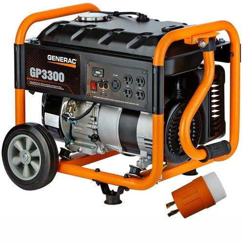 Generac GP3300 Portable Generator-3750 Surge...