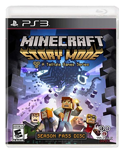 Minecraft: Story Mode - Season Disc - PlayStation 3 (Game Minecraft Ps3)
