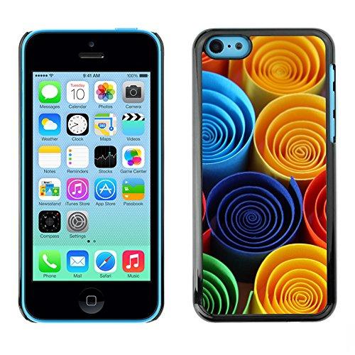 Premio Sottile Slim Cassa Custodia Case Cover Shell // V00001818 papier couleur // Apple iPhone 5C
