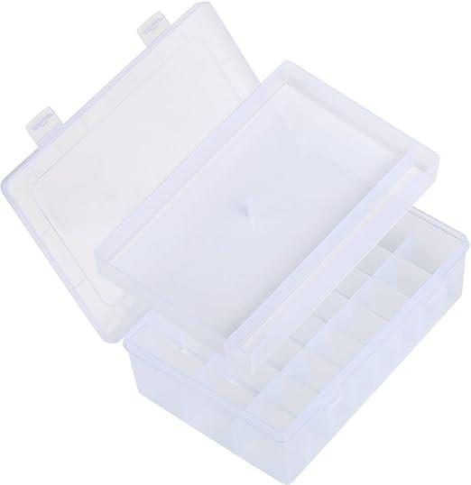 LIHAO Caja para Almacenar Snaps Plástico T5 y Alicates: Amazon.es ...
