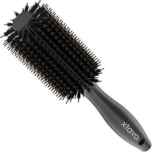 xtava 22mm Double Bristle Body Brush - Essential - Male Hair Brush