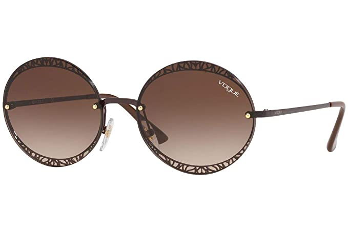 Vogue 0VO4118S Gafas de sol, Brown, 56 para Mujer: Amazon.es ...