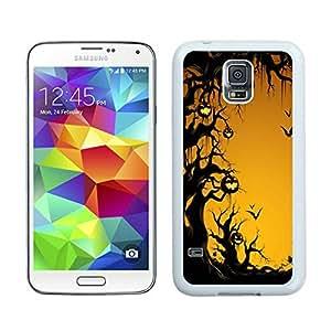 Niche market Phone Case Halloween White Samsung Galaxy S5 Case 12