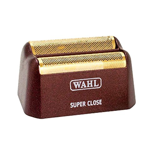 Wahl Replacement Shaving Head & Cutter Blades with Hypo-Allergenic Gold Foil Head with Bump Prevent Technology, Detaches Easily for Cleaning and Sanitation Replacement Shaving Head with Hypo-Allergenic Gold Foil Head with Bump Prevent Technology, Detaches Easily for Cleaning and Sanitation
