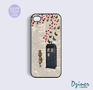 iPhone 4 4s Tough Case - Newspaper Girl Doctor Who iPhone Cover
