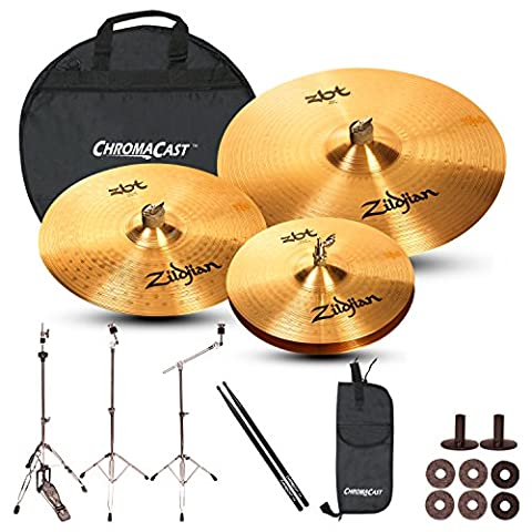 Zildjian Complete Cymbal Set with Hardware: ZBT 20