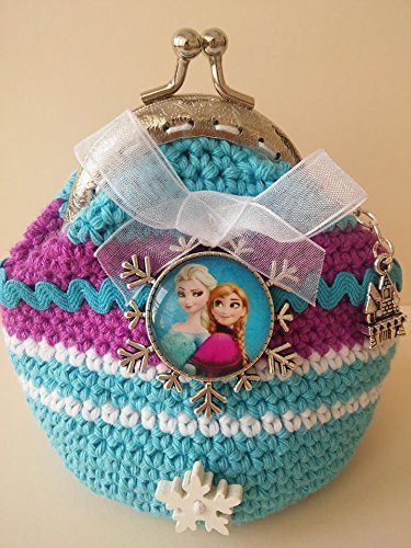 Monedero Frozen crochet.