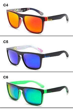 KDEAM polarizadas Gafas de Sol Hombres/Mujeres 5 Colores ...