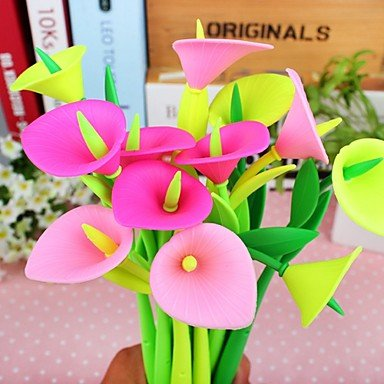 Calla Lily Gel (BST Pens & Markers Calla Lilies Style Gel Pen(Random)
