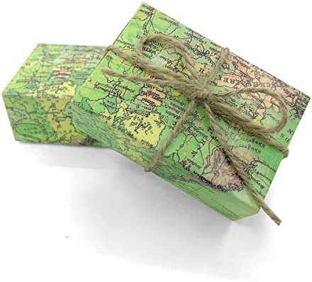 Vintage Kraft Paper Candy Box Around the World Map Drawers Design Favor  Gift Boxes Wedding Favors Party Supplies for Traveling Themed, 50pc