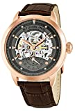 Stuhrling Original Men's Executive Legacy Brown/Grey 316L Surgical Grade Stainless Steel Watch