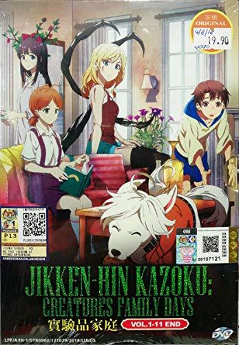 JIKKEN-HIN KAZOKU : CREATURES FAMILY DAYS - COMPLETE ANIME TV SERIES DVD BOX SET (11 EPISODES)