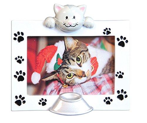 (Pet Cat Photo Frame Ornament)