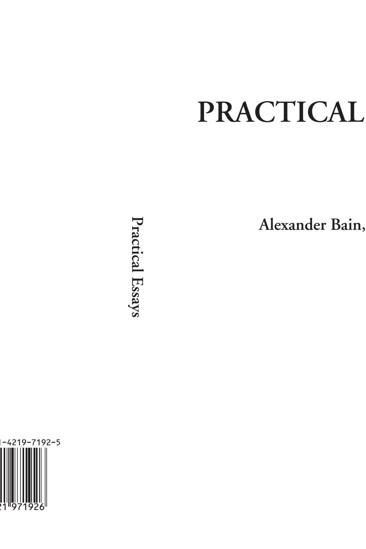 Practical Essays pdf epub
