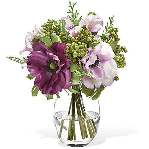 Small flower arrangements in acrylic water amazon mightylinksfo