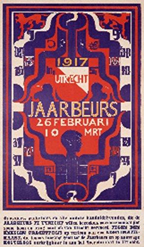 Utrecht Jaarbeurs Vintage Poster (artist: Lion-Cachet) Netherlands c. 1917 (12x18 Art Print, Wall Decor Travel ()