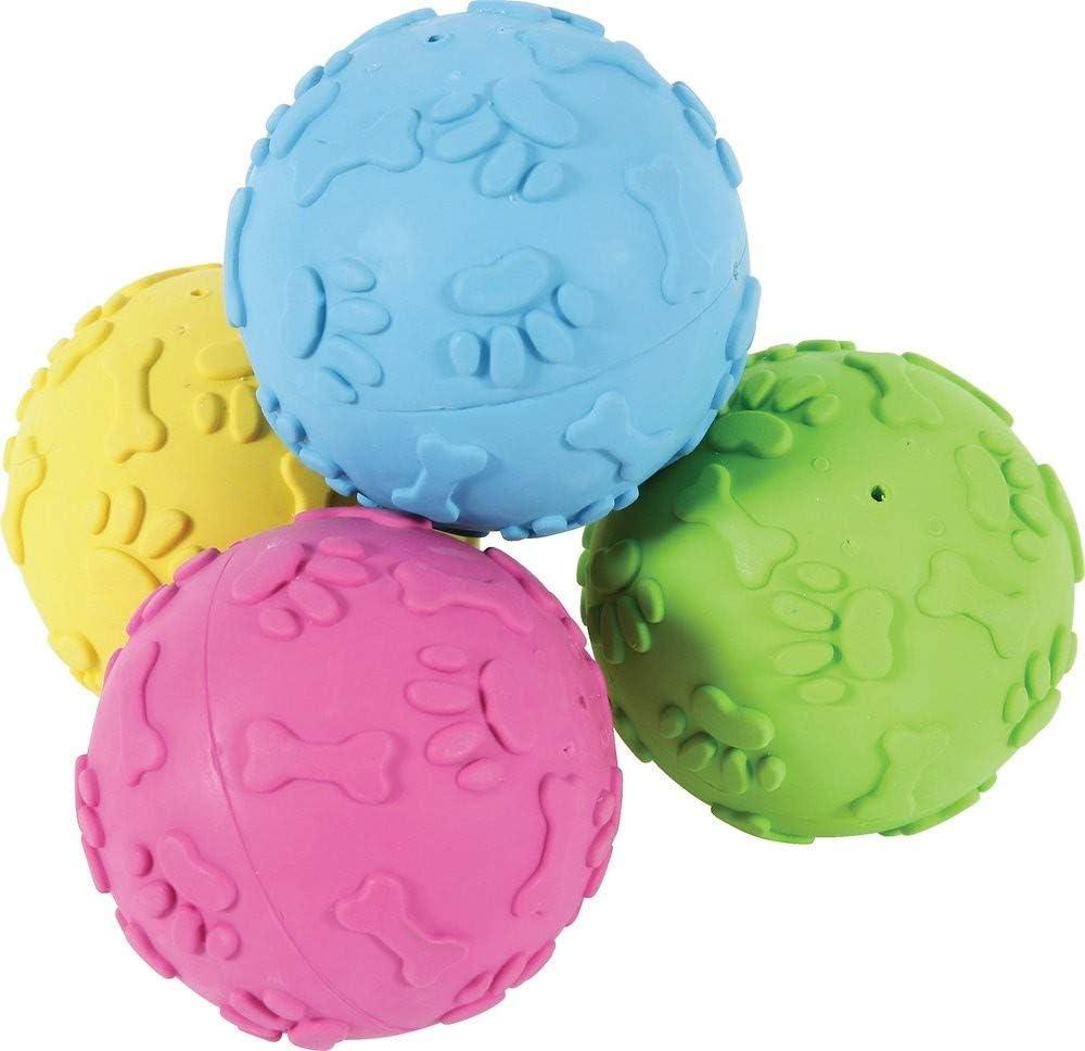 Zolux Perro Bola Duro de Goma 7 cm: Amazon.es: Productos para mascotas