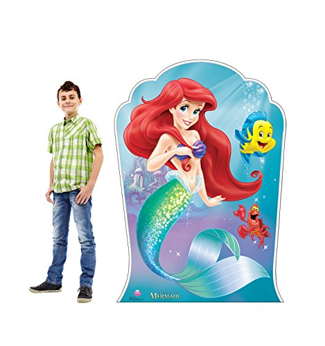Advanced Graphics Ariel and Friends Life Size Cardboard Cutout Standup - Disney's The Little Mermaid