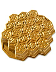 Nordic Ware Honeycomb Pull - Apart Pan, One Size, Gold - New