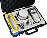 Starrett Hardness Tester, 3811A - Digital, Compact, Portable for Testing Large Metal Parts, Fast Test Speeds, Converts to Rockwell, Brinwell, Vickers and Shore Scales, USB Output, Included Carry Case