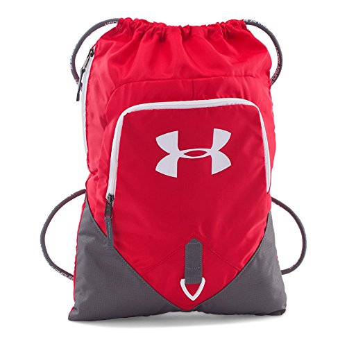 Under Armour Undeniable Sackpack, Red /White, One -