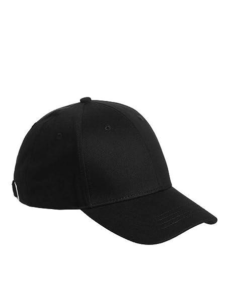 JACK & JONES Gorras Basic Logo Baseball Cap Black Adjustable