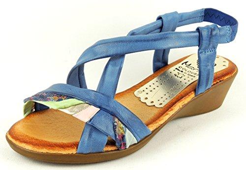 Marila Women's Fashion Sandals Multiazul 848REuWBmb