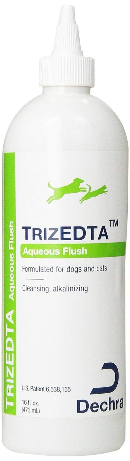 Dechra TrizEDTA Aqueous Flush for Cats and Dogs 16 oz by Dechra (Image #1)