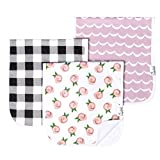 Baby Burp Cloth Large 21''x10'' Size Premium