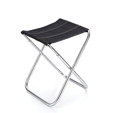 Sgabello Alluminio Pieghevole.Nuolux Sgabello Pieghevole In Alluminio Portatile Per Campeggio Pesca Pic Nic All Aperto Sport