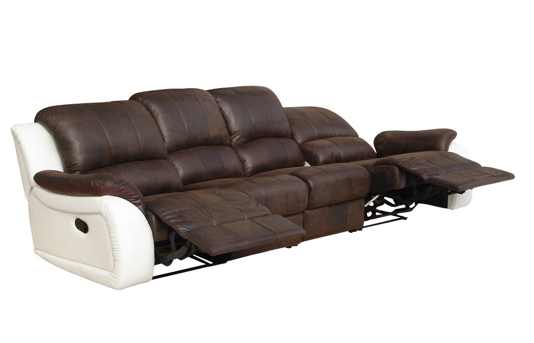 Relax Schlafsofa Couch Polstermöbel Relaxsessel Fernseh Sessel 5129-4-PU