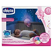 Chicco Next2ME Baby Night Light Projector NEXT2STARS Girl Rose Projector